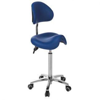 Sadelstol med rygg