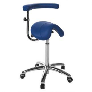 Sadelstol med ett multifunktionellt armstöd - Pony