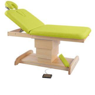 Elektrisk brits / massagebord - 2-delad med träbas