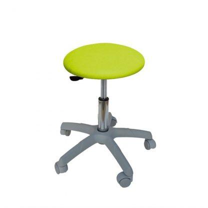 Rund stol med grå bas