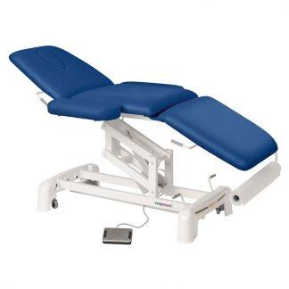 Elektrisk behandlingsstol - 3-delad med hjul