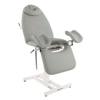 Stationary gynecological examination chair