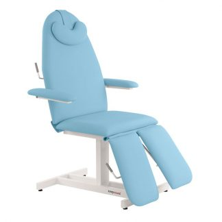 Stationär fotvårdsstol - 3-delad med individuella arm- och benstöd