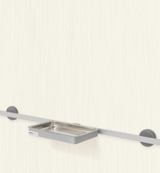 Removable bowl for wall rail