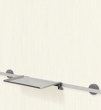 Multifunctional bowl for wall mounting rail - Model 2