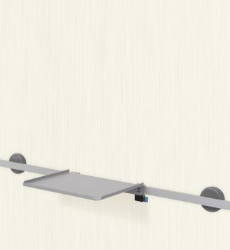 Multifunctional bowl for wall mounting rail - Model 1