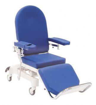 Elektrisk dialysstol med hjul - 3-delad