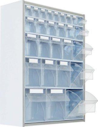 Väggmonterade förvaringsskåp - 65x20x80 cm