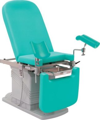Electrical gynecological and urology chair with foot support
