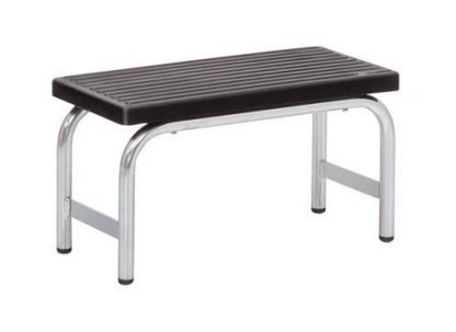 Trappsteg - 1 steg - 20 cm bred - Rostfritt stål