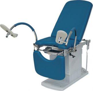 Elektrisk gynekolog- och urologistol med fotstöd (ny modell)