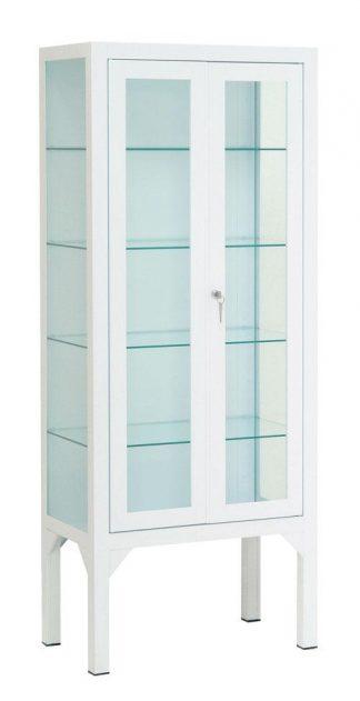 Instrumentskåp - 60x35x150 cm - 4 individuella benstöd - 2 dörrar