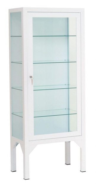 Instrument cabinet - 60x35x150 cm - 4 individual legrests