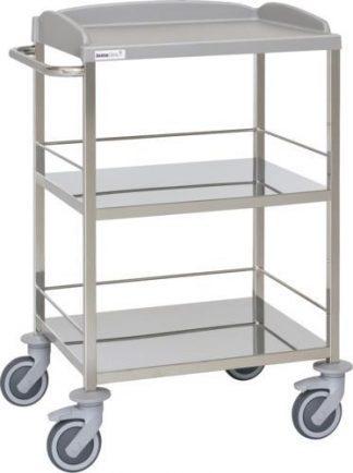 Multifunktionell sjukhusvagn - 3 hyllplan