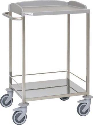 Multifunktionell sjukhusvagn - 2 hyllplan