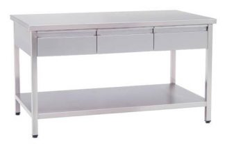 Work table with drawers - 150x80x85 cm