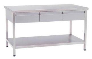 Arbetsbord med lådor - 150x80x85 cm