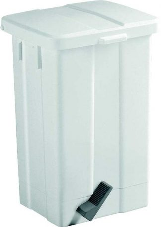 Waste basket with foot pedal - 50 Litres