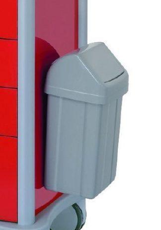 PVC waste basket - 12 Litres - Model 2