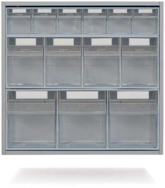 Väggskåp med utdragbara lådor - 63,5x35x60 cm