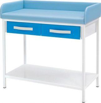 Skötbord för barn - Stationär - 2 lådor