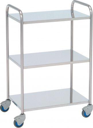 Instrument table - 3 shelves - 60x40x87 cm