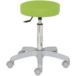 Rund stol med PVC-bas