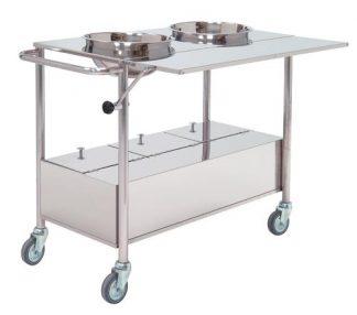 Plaster trolley - 100x50x80 cm