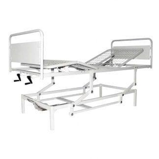 4-delad säng anpassad för infusion m.m. - Justerbar höjd