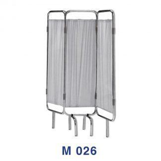 Vikvägg för avskärmning - 3-delad - Brandsäker - Tvättbar