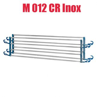 Sidogrindar för sängar - M012 CR Inox