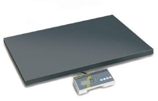 Industrivåg - Kan användas med batterier - Max 300 kg
