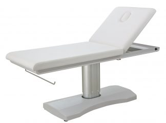 Electric treatment table - 2 sections - Paper roll holder - Face hole with Plug