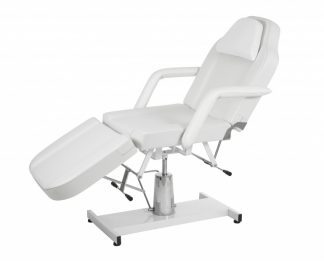 Hydraulic treatment chair - 3 sections - detachable armrests - Face hole