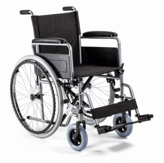 Hopfällbar rullstol med stålram