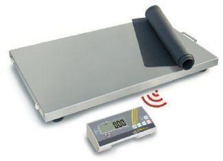 Industrivåg med trådlös display - Kan användas med batterier - Max 300 kg