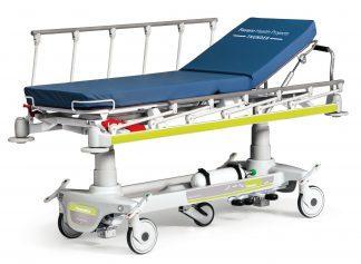 Multifunktionell patientvagn för akutvården
