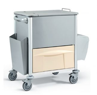 Trolley made out of metal - Ideal for documents and storage - 78x60x101H cm