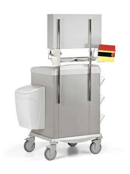 Medicinvagn – Utrustad för medicinering - Stålram - 72 cm bred