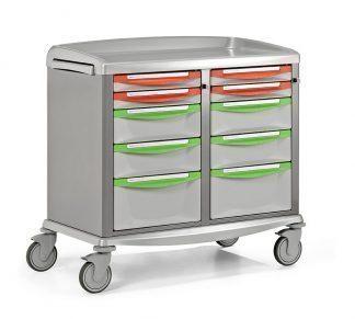 Akutvagn - Extra bred - Lämplig för förvaring och transport