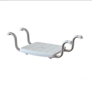 Badkarsbänk - 4 anti-slip stöd för montering i badkar - Sittyta: 37x30 cm