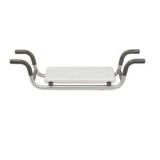 Badkarsbänk - 4 anti-slip stöd för montering i badkar - Sittyta: 41x23 cm