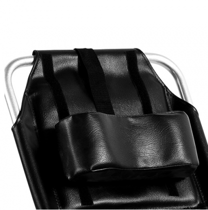 Hopfällbar rullstol i aluminium med toalettfunktion - 4-punktsbälte