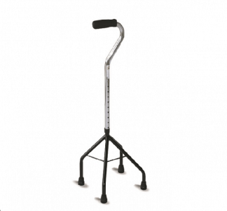 Adjustable 4 point cane
