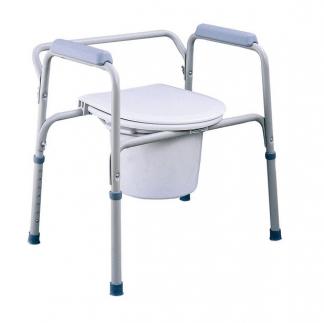 Duschstol med toalettfunktion