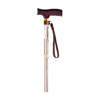 Adjustable cane made out of aluminium - Foldable