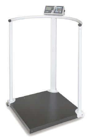 Våg med handräcken och hjul - Klass III - BMI-funktion - Max 300 kg