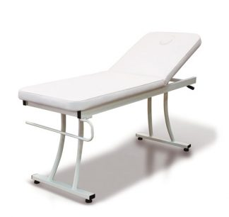 Multifunctional Stationary treatment table - 2 sections with paper holder