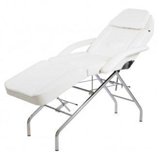 Stationär behandlingsstol - 3-delad - stålram - PVC-klädsel