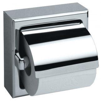 Toalettpappershållare i rostfritt stål - Modell 3